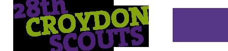 28th Croydon Scouts Logo