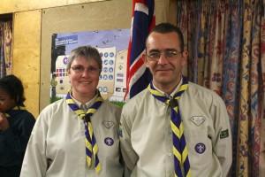 Nevis Scout Troop Leaders